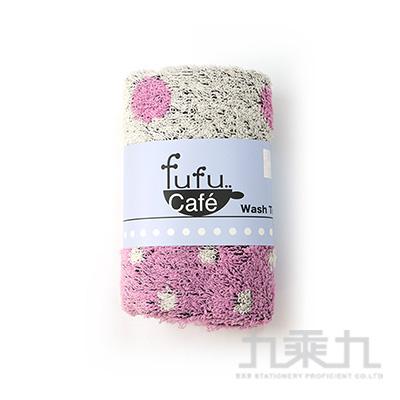fufu cafe 抗菌防臭方巾-粉紅  FUC-3062 @300