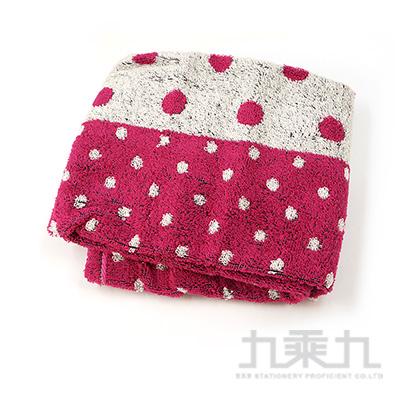 fufu cafe 抗菌防臭毛巾-紅 FUC-5062 @500