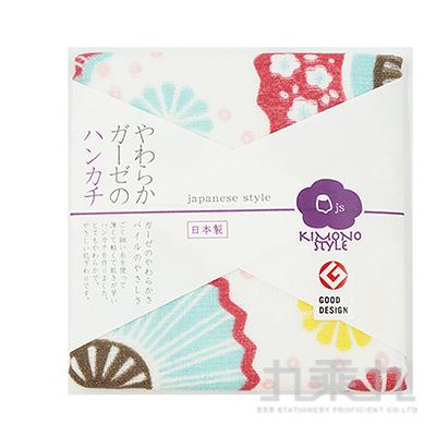 JS STYLE 小方巾-舞扇 JS-35057 @350 161439