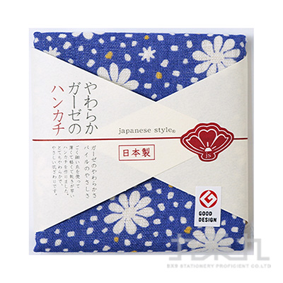 30X30 japanese style 花雨小方巾161447JS-35060