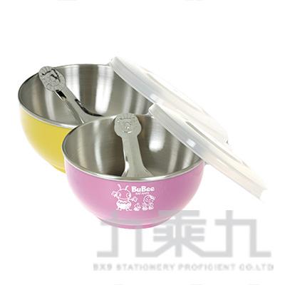 41#香醇不鏽鋼隔熱碗(塑膠蓋) Y-215S