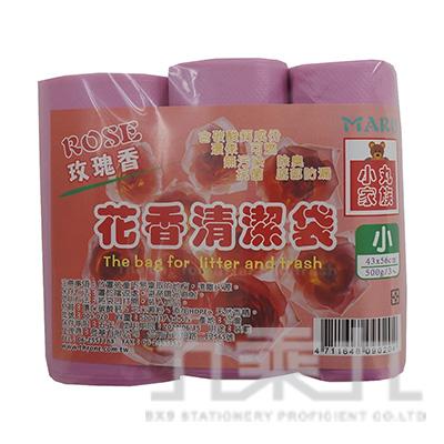 花香清潔袋 玫瑰香(小)3入