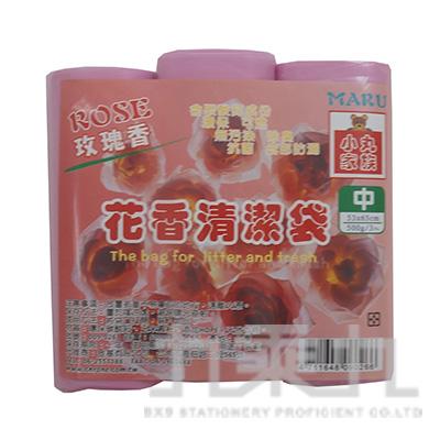 花香清潔袋 玫瑰香(中)3入