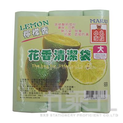 花香清潔袋 檸檬香(大)3入