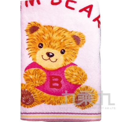 台灣製剪裁童巾-灰熊 515-3