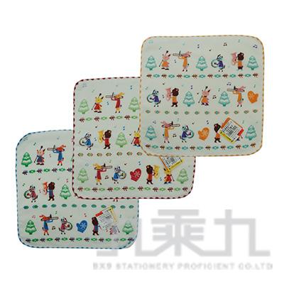 森林樂隊紗布小方巾 SG346K (款式隨機)