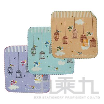 自由窗戶紗布小方巾 SG348K (款式隨機)