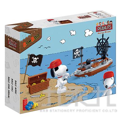 史努比積木系列-海盜歷險