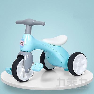 童騎士-幼童腳踏車(粉藍)