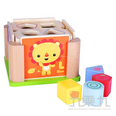 費雪動物形狀積木學習盒FP1022
