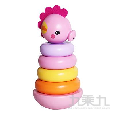 費雪海馬疊疊樂-粉色FP1025B