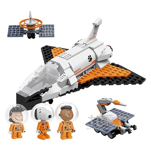 史努比70周年太空系列-太空梭