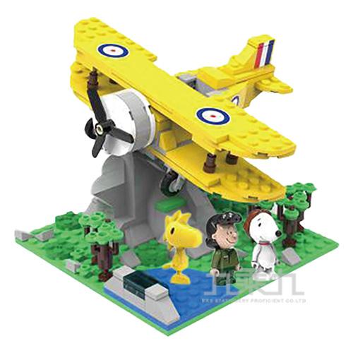SNOOPY史努比叢林系列-尋寶飛機