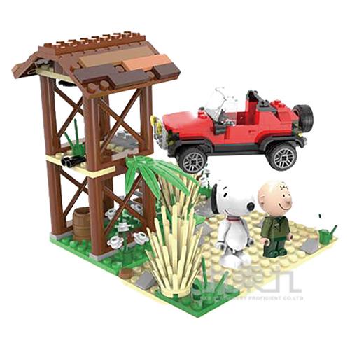 史努比叢林系列-叢林探險家