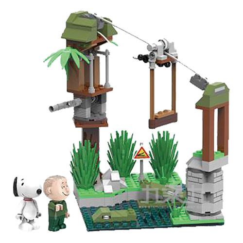 SNOOPY史努比叢林系列-勇闖鱷魚潭