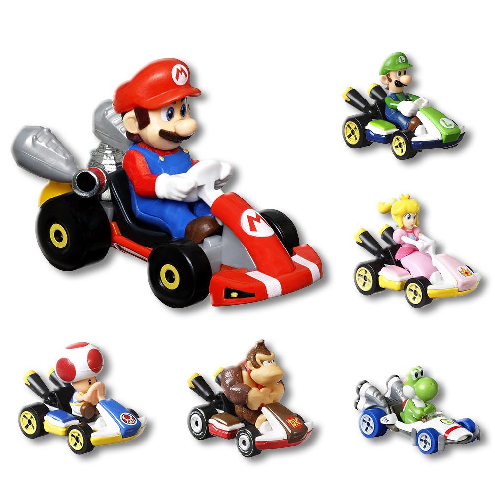 風火輪Mario Kart合金車系列 MHW71441(多款隨機)