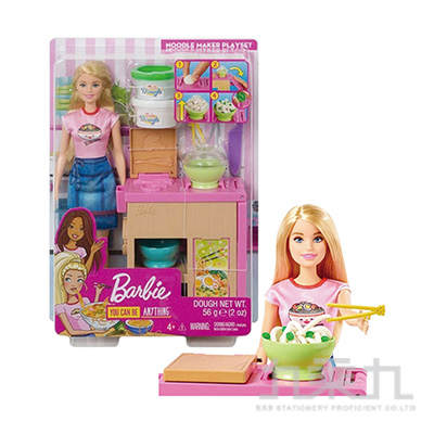 芭比拉麵店組合連娃娃MBB79531
