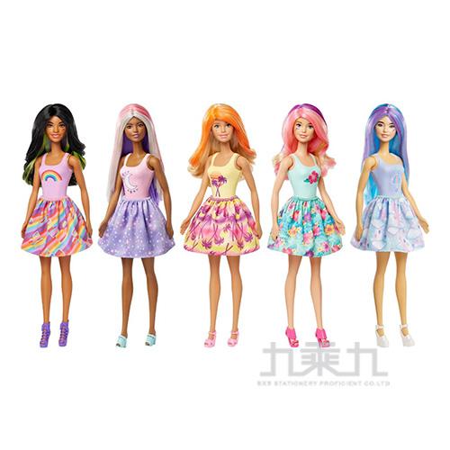芭比驚喜造形娃娃戶外系列MBB91950(款式隨機出貨)