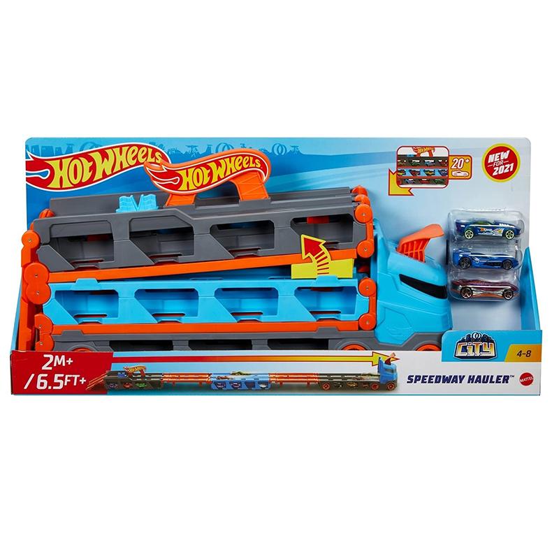 風火輪摺疊賽道收納卡車(附3台車)MHW92520