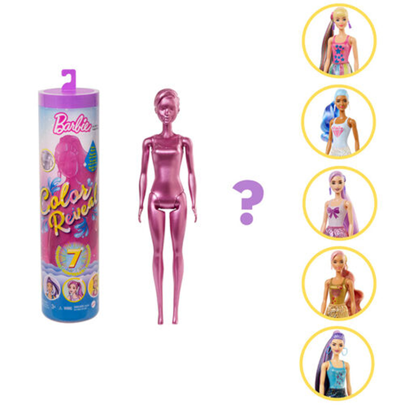 芭比驚喜造形娃娃單色時尚系列(款式隨機出貨)