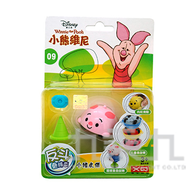 迪士尼陀螺車-小豬 XQ13879