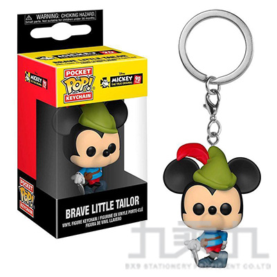 POP! 鑰匙圈 迪士尼米奇90周年 勇敢的小裁縫師米奇