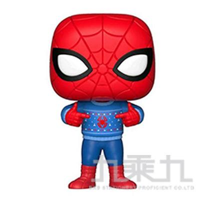 POP! 漫威 聖誕節 蜘蛛人w/毛衣 FU33983