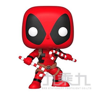 POP! 漫威 聖誕節 死侍w/拐杖糖 FU33985
