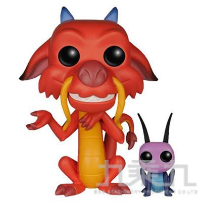 POP! 迪士尼:花木蘭-木須龍&蟋蟀 FU05898