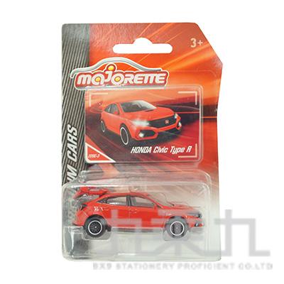 (限量版)美捷輪小汽車-Honda Civic Type R 王子紅