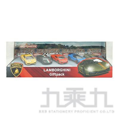 美捷輪小汽車-藍寶堅尼豪華組(五入) DI00606
