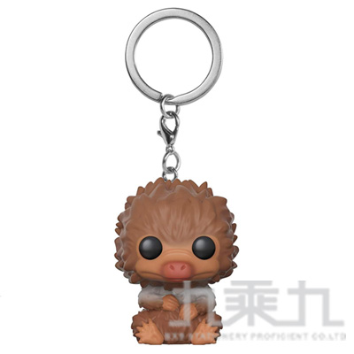 POP! 鑰匙圈:怪獸與葛林戴華的罪刑-玻璃獸寶寶 卡其色