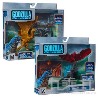 哥吉拉2 怪獸對決2入(3.5吋) JA95843 (款式隨機)