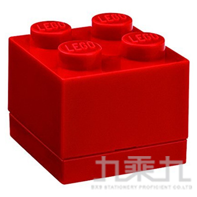 樂高系列 迷你方塊四(鮮紅) RC40110