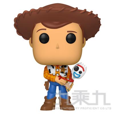 POP! 迪士尼 玩具總動員4 胡迪抱著forky  FU37471