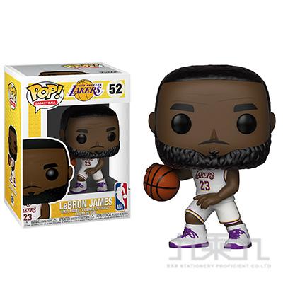 POP NBA洛杉磯湖人-勒布朗詹姆士(白制服) FU37271