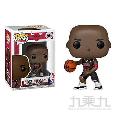 POP NBA:芝加哥公牛-麥克喬丹 黑色制服FK36903