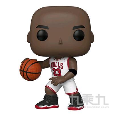 POP NBA芝加哥公牛 10吋麥可喬丹(White Jersey)