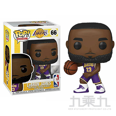 POP NBA 湖人隊:勤布朗 詹姆士 FK46549