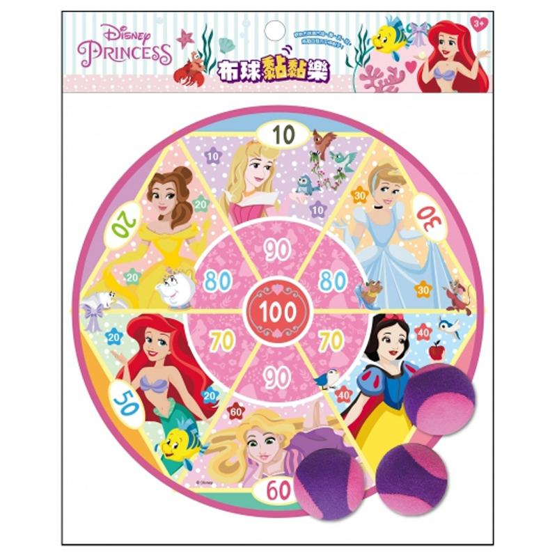 迪士尼公主布球黏黏樂 QH011D
