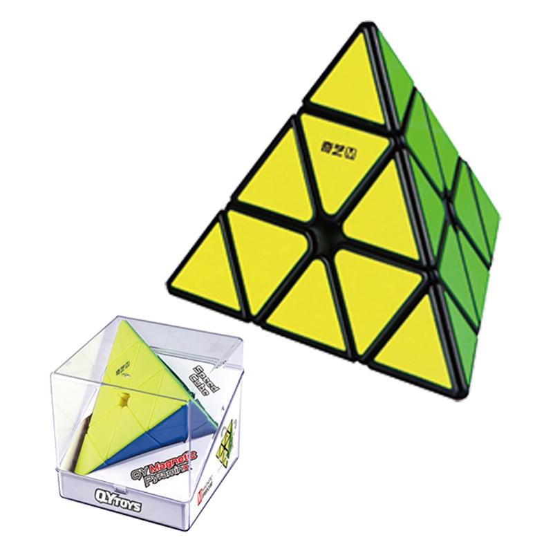 磁力金字塔魔方