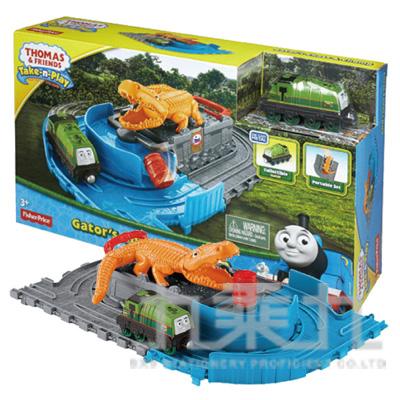 99#湯瑪士帶著走-高登鱷魚冒險軌道遊戲組