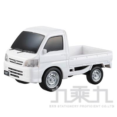 MARUKA 110mm迴力車 白色卡車 MAP13957