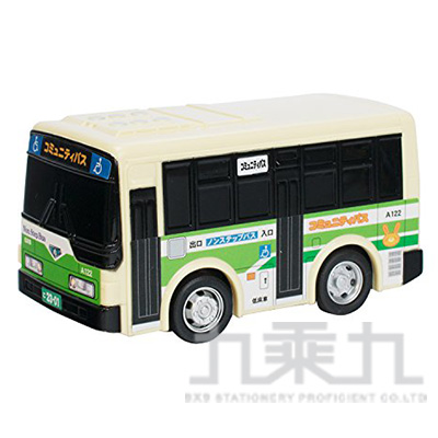 MARUKA 110mm迴力車 公車 MAP13996