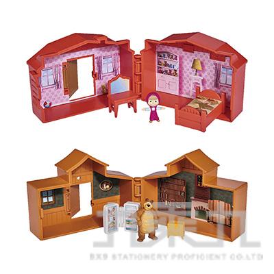 瑪莎與熊房屋遊戲組 SIM02510 隨機出貨