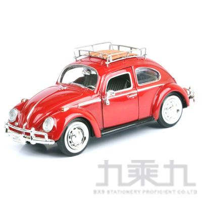 1:24福斯合金車-1966金龜車(紅) MMV79559