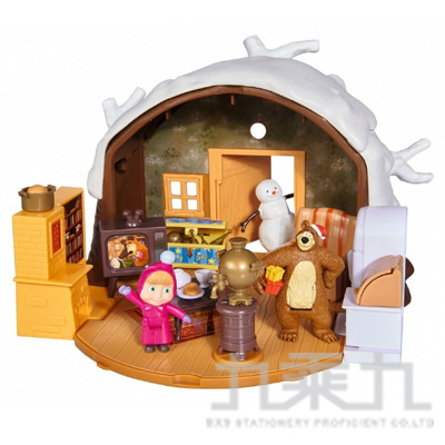 瑪莎遊戲組-熊熊冬季的家 SIM02507