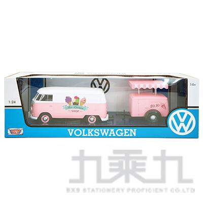 1:24福斯合金車-冰淇淋拖車 MMV79672