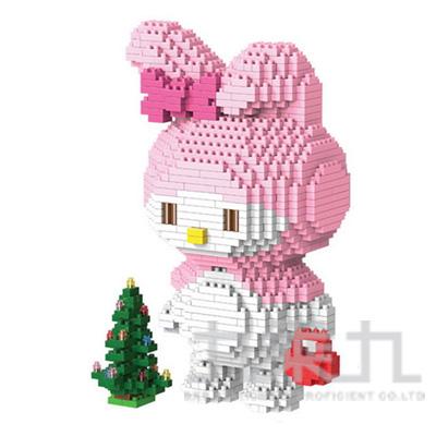 積木 可愛兔子 NO.9026