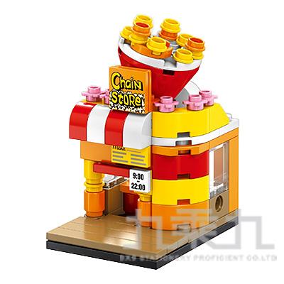sembo block 積木 爆米花店 601001